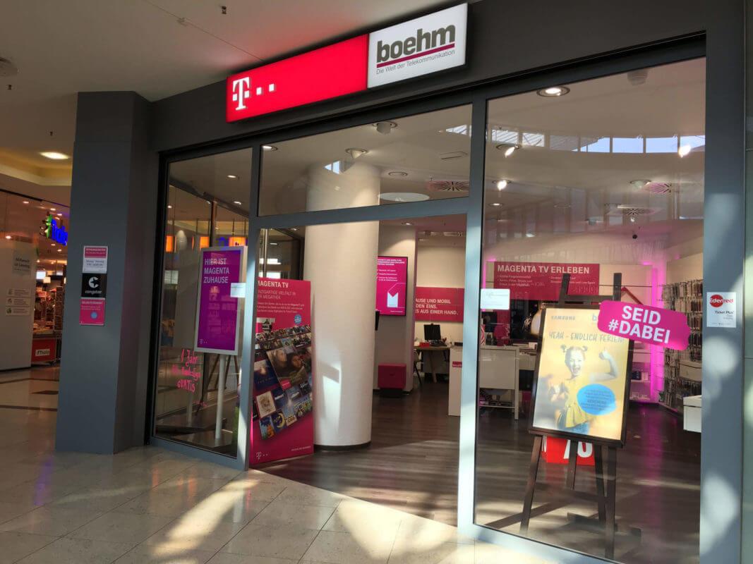 boehm Stadtgalerie Telekom Shop