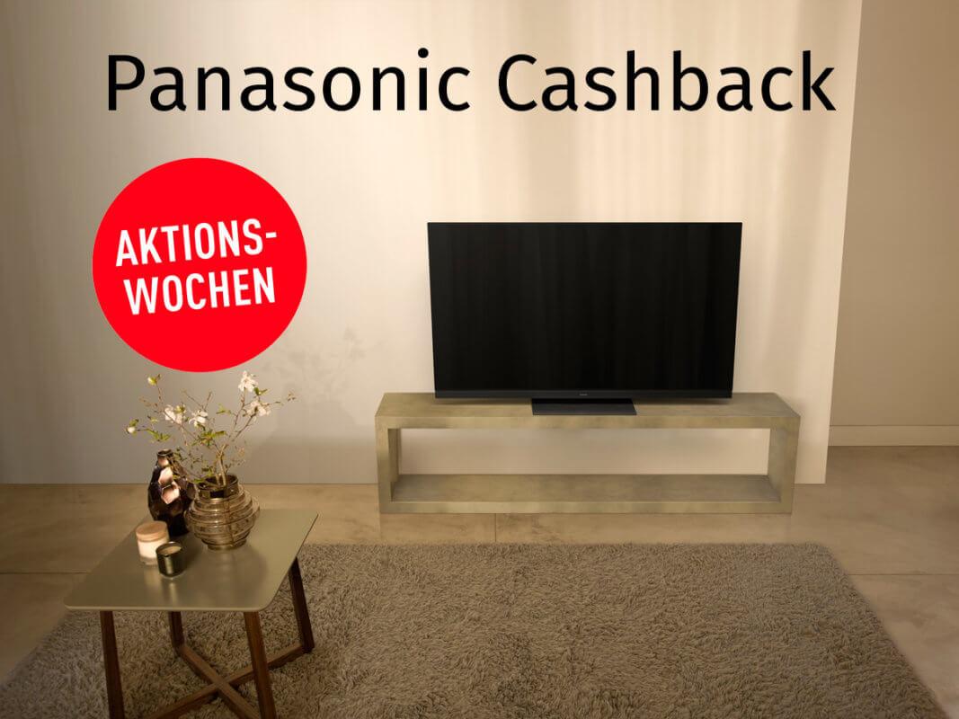 Panasonic TV Cashback 2019
