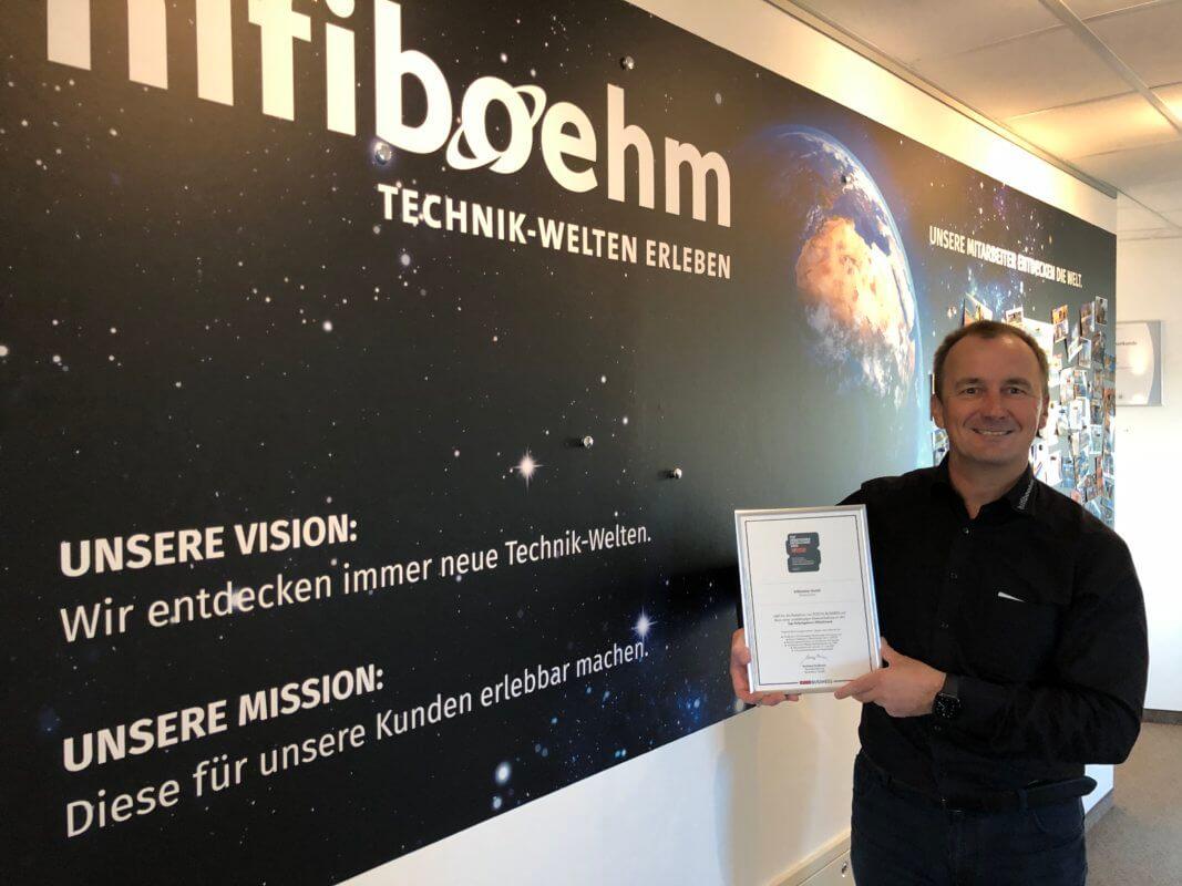 Focus Business Auszeichnung als einer der besten Arbeitgeber Deutschlandes