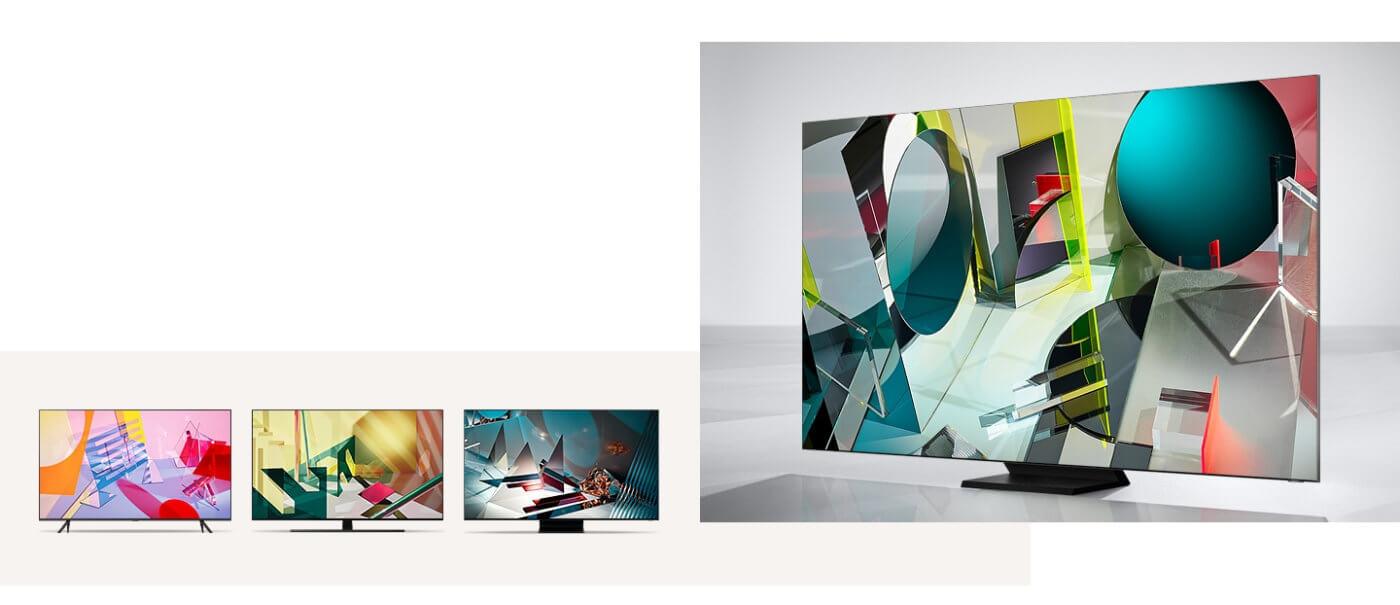 Samsung QLED-TV Modell 2020 - Vergleich