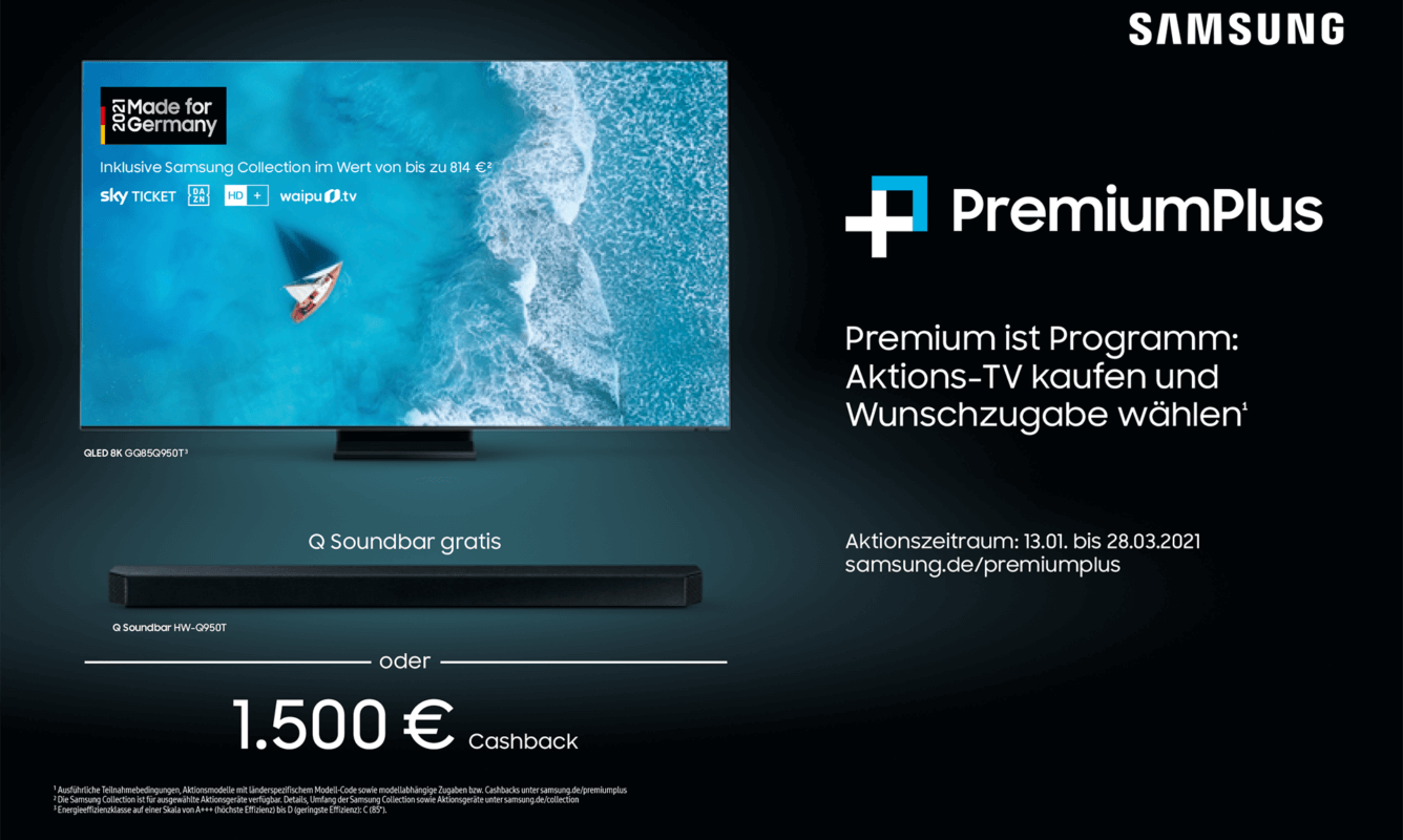Samsung Premium Plus Aktion 2021