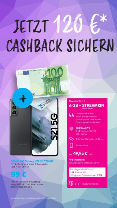 Telekom Aktion Cashback