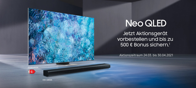 Samsung Neo QLED-Cashback