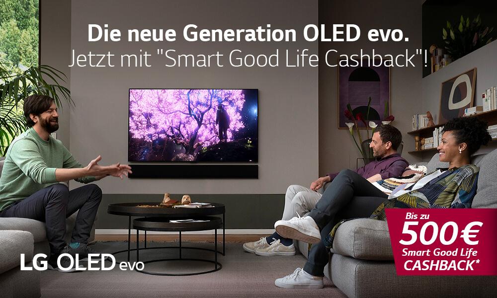 LG OLED evo Cashback