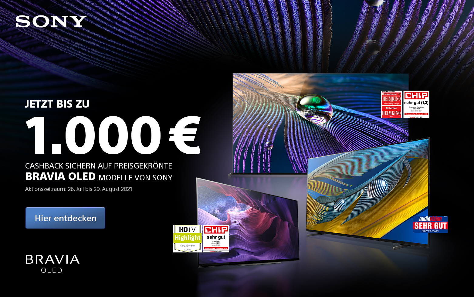 Sony OLED Cashback
