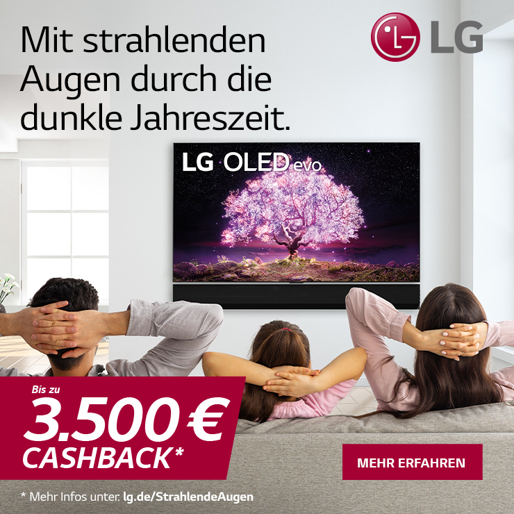 LG Cashback Oktober 2021