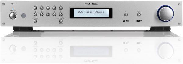 ROTEL RT-12 Netzwerk/DAB+/FM Tuner silber silber