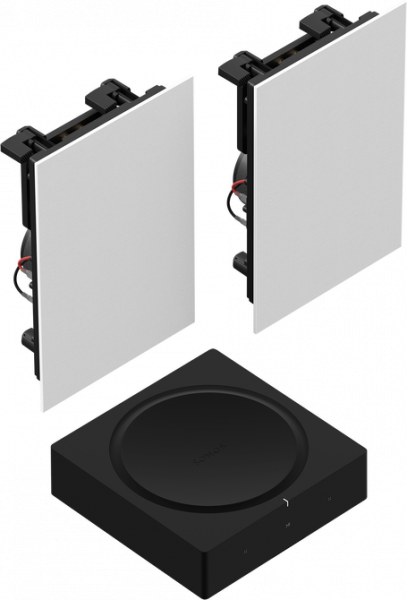 Sonos In-Wall Speaker SET inkl. Sonos Amp