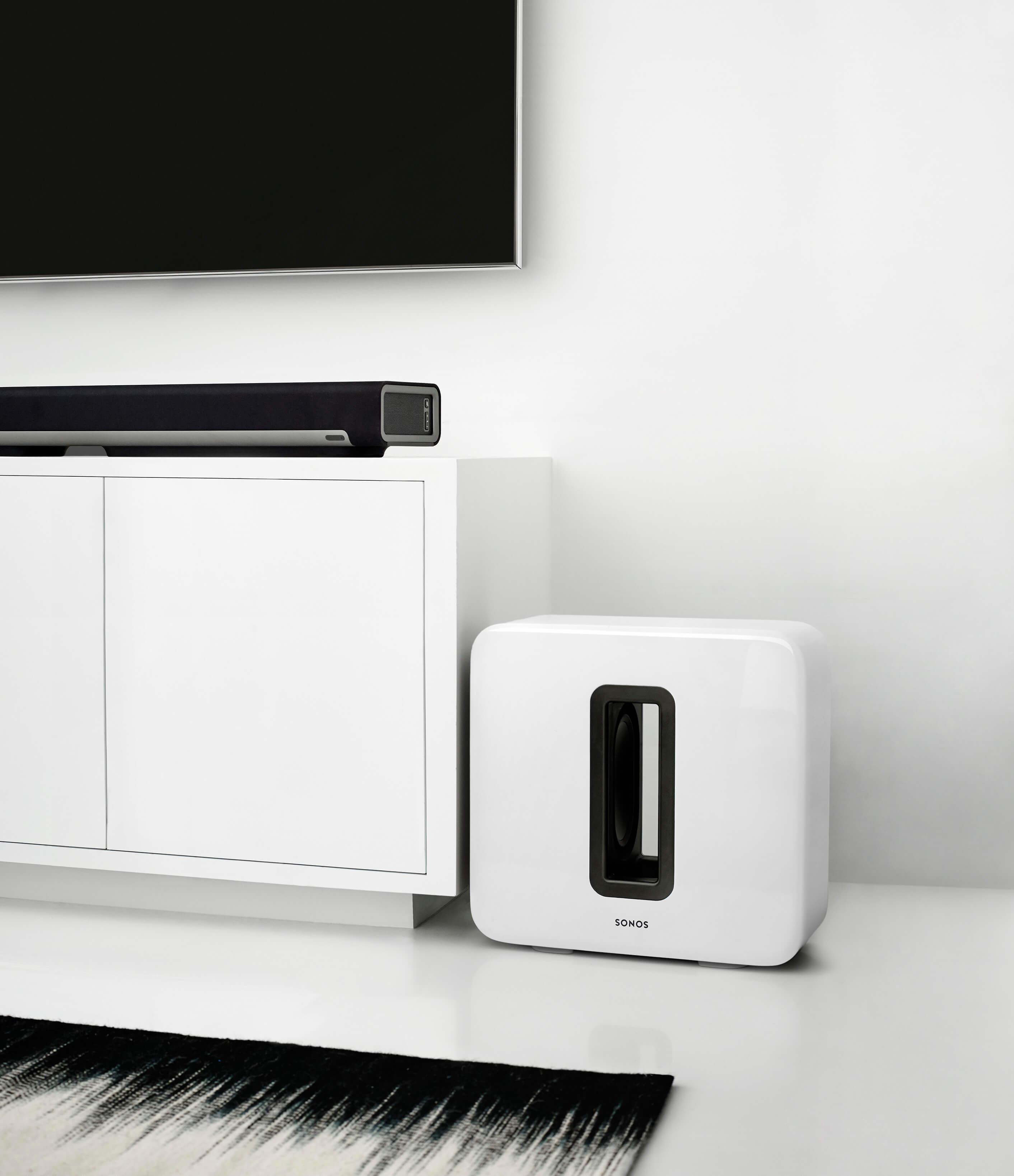 sonos beam 5 1 heimkino set mit sub und 2x one schwarz. Black Bedroom Furniture Sets. Home Design Ideas