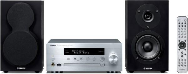 Yamaha MCR-N470 D (DAB) silver/black