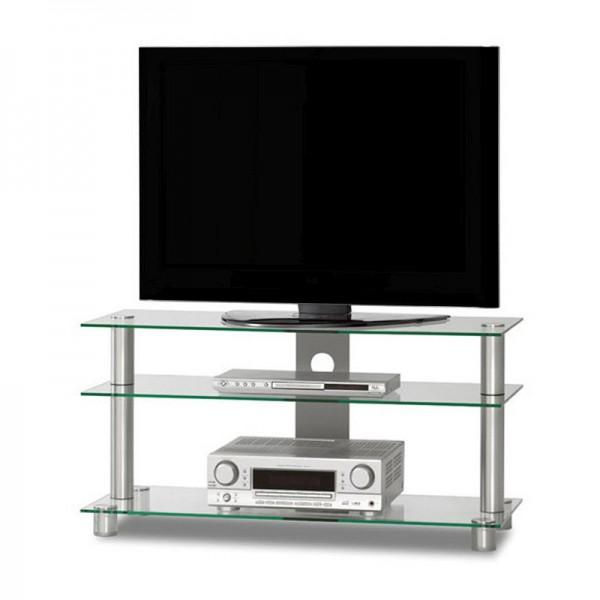 Just-Racks TV1053-AL-KG klarglas