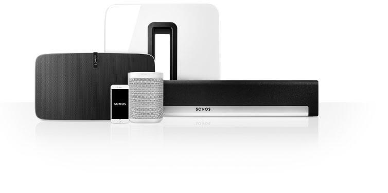 Sonos Multiroom Steuerung