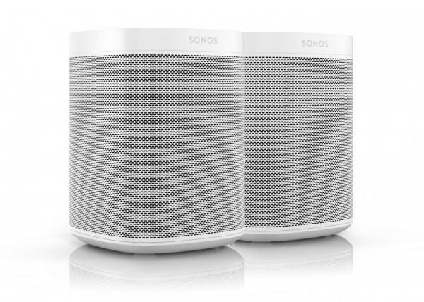 Sonos One (Gen. 2) - 2er Bundle - Stereo Paar weiß
