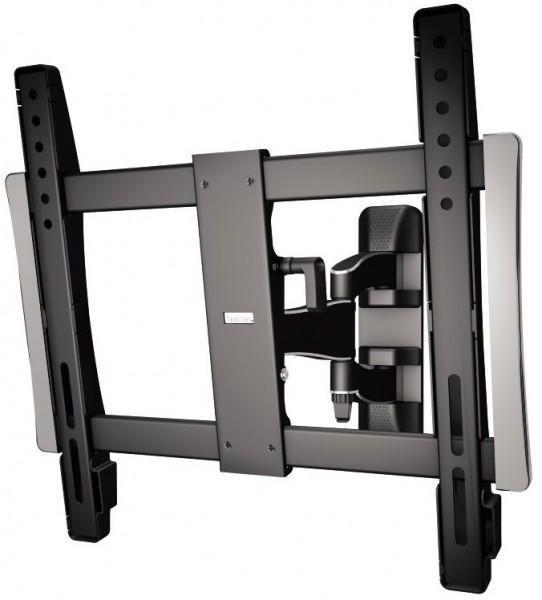 hama tv wandhalterung fullmotion premium schwarz hama wandhalterungen bei hifiboehm plauen kaufen. Black Bedroom Furniture Sets. Home Design Ideas