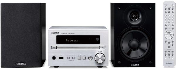 Yamaha MCR-B370D silber/Piano schwa