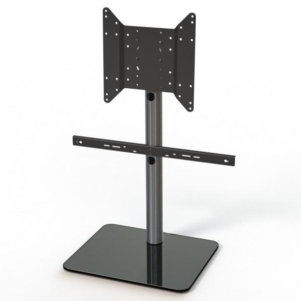 Just-Racks TV600SP-BG inkl. Soundbar-Adapter Schwarz