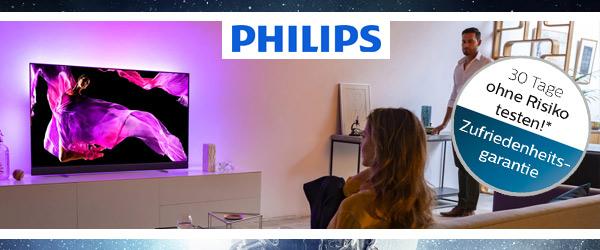 Philips Ambilight Zufriedenheitsgarantie