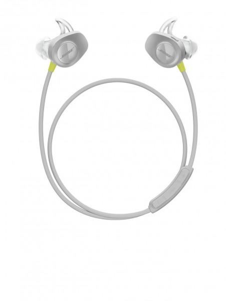Bose SoundSport wireless headphones gelb