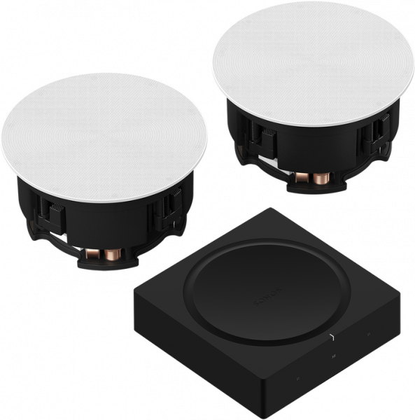 Sonos In-Ceiling Speaker SET inkl. Sonos Amp