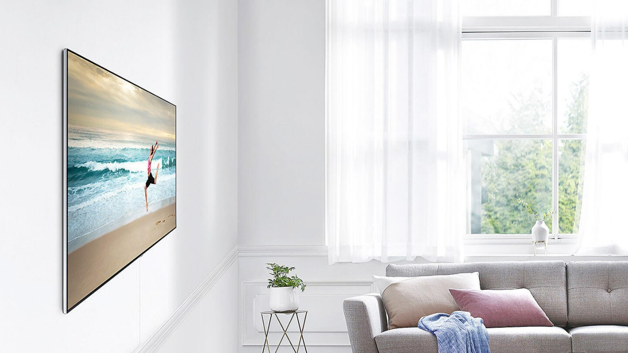 Samsung QLED TV Wandhalterung No Gap