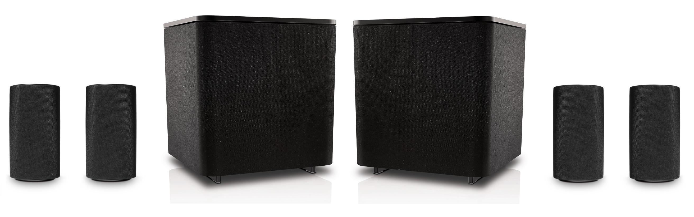 Loewe 5.2 System schwarz | Loewe Aktiv-Lautsprecher bei hifiboehm ...