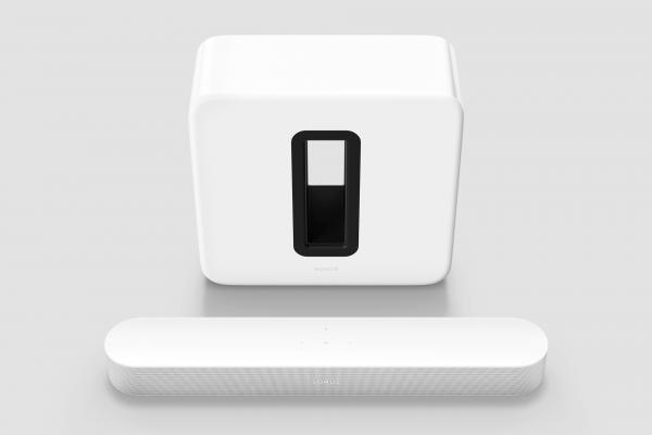 Sonos 3.1 Heimkino Set mit Beam (Gen2) + Sub (Gen3) weiß