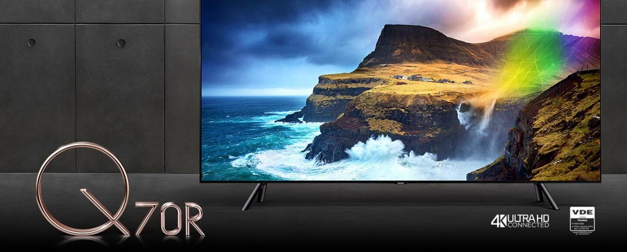 Samsung QLED-TV Q70R bei hifiboehm Plauen