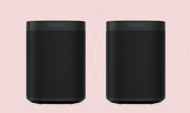 Sonos One SL Stereo Paar