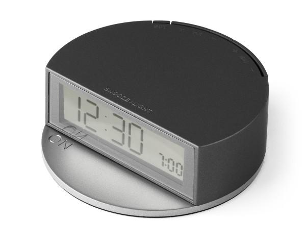 Lexon FineClock - LR138 X - Design LCD Uhrenwecker aluminium   Ausstellungsstück