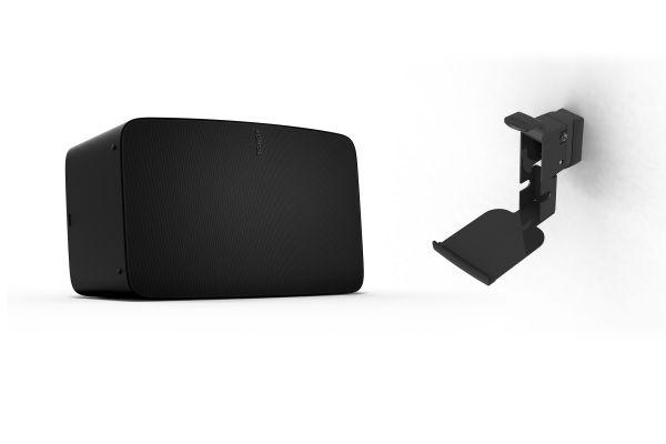 Sonos Five | WLAN Speaker inkl. Flexson Wandhalterung schwarz