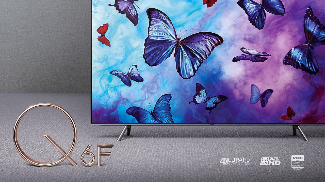 Samsung QLED Q6F bei hifiboehm Plauen