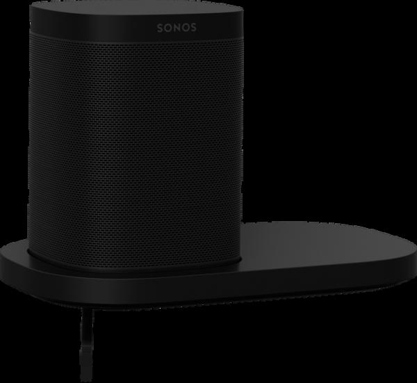 Sonos Shelf - Wandregal Halterung für Sonos One Schwarz