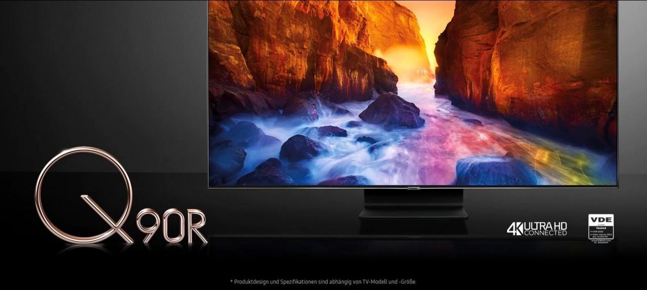 Samsung QLED-TV Q90R bei hifiboehm Plauen