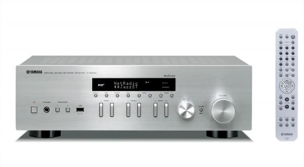 Yamaha R-N402 D (DAB) silber