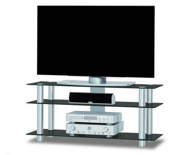 Just-Racks TV1203-AL-BG schwarz