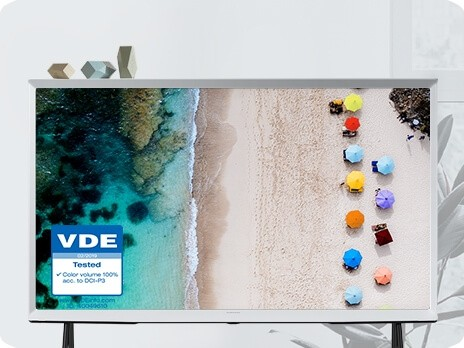 Samsung Serif TV mit Quantum Dots