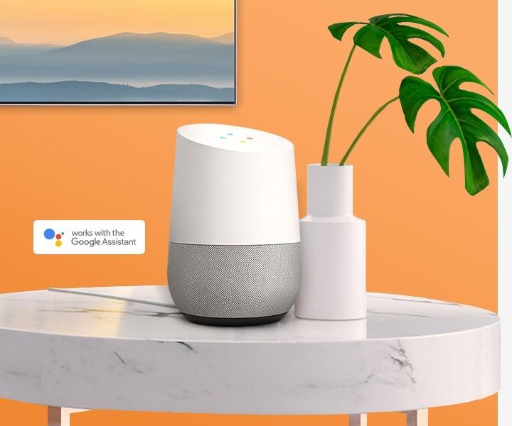 Samsung QLED mit Google Assistant