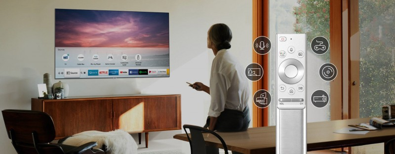 Samsung QLED One Remote Control