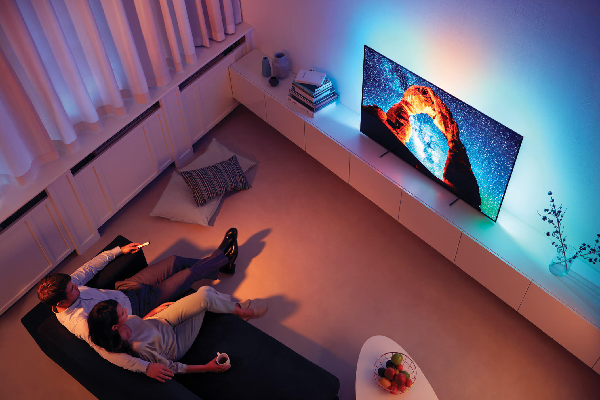 Philips Ambilight im OLED 803