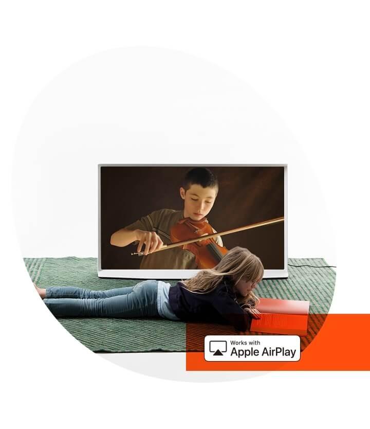 Samsung Serif mit AirPlay2
