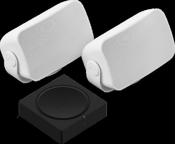 Sonos Outdoor Speaker SET inkl. Sonos Amp