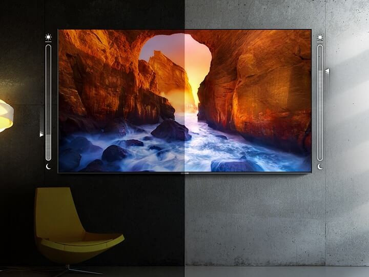Samsung QLED Intelligent Mode