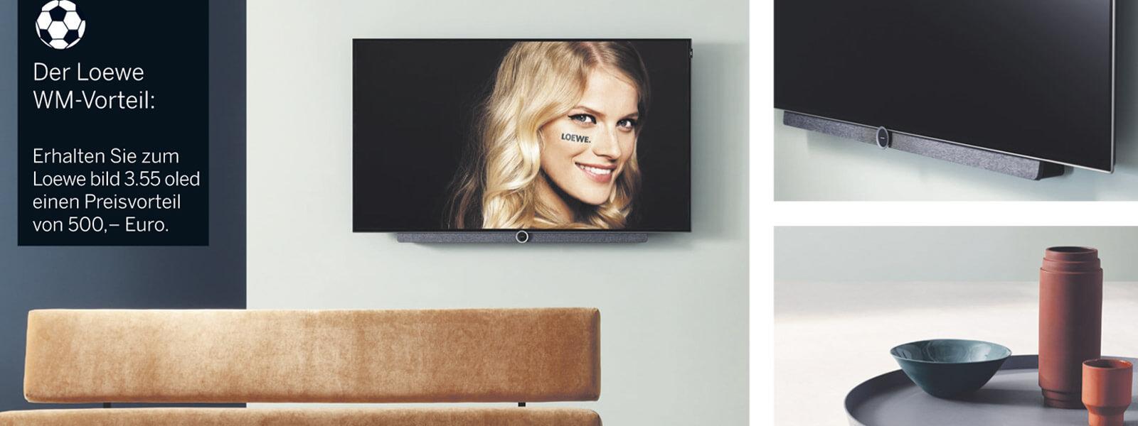 Loewe Fernseher in Plauen - WM Aktion OLED