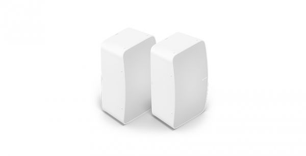 Sonos Five Stereo Paar   WLAN Speaker für Musikstreaming weiß