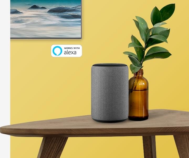 Samsung QLED mit Amazon Alexa