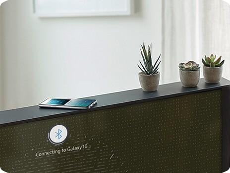 Samsung Serif TV mit NFC