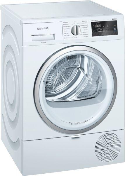 Siemens WT45RV80 Wärmepumpentrockner weiß