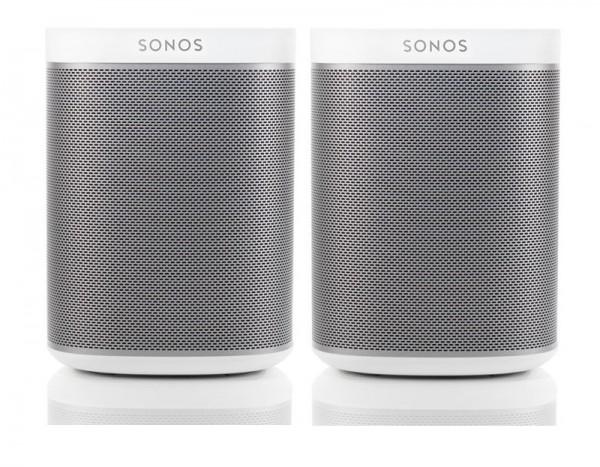 Sonos Play:1 Bundle - 2 Stück weiß
