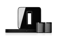 Sonos 5.1 Heimkino Set - PLAYBASE, Subwoofer & 2x Play:1 schwarz