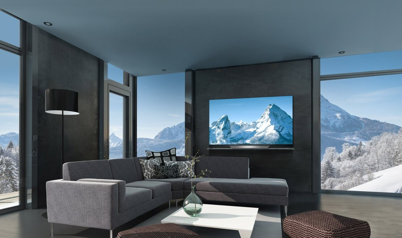 LG OLED TVs bringen Stil und Eleganz in Ihren Wohnbereich.